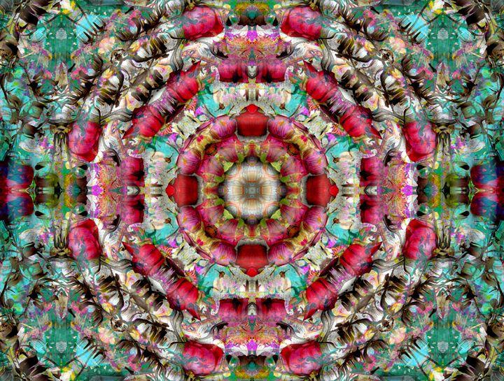 Rose Garden Ornament - Flowers by Alaya Gadeh