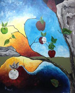 Apple Moon #1