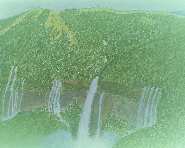 Nohkalikai falls in Meghalaya India - Amitava0112