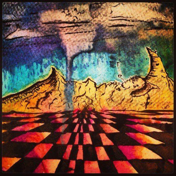 """""""Sleeping mountains"""" - J.K. Woods"""
