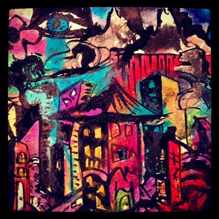 """""""Garden city"""" - J.K. Woods"""