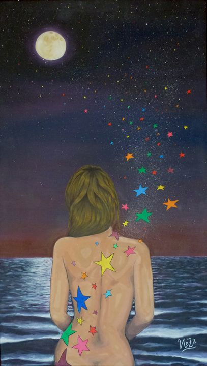Midnight, the stars and you - NeZz Art
