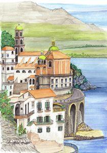 """Seaside village"""
