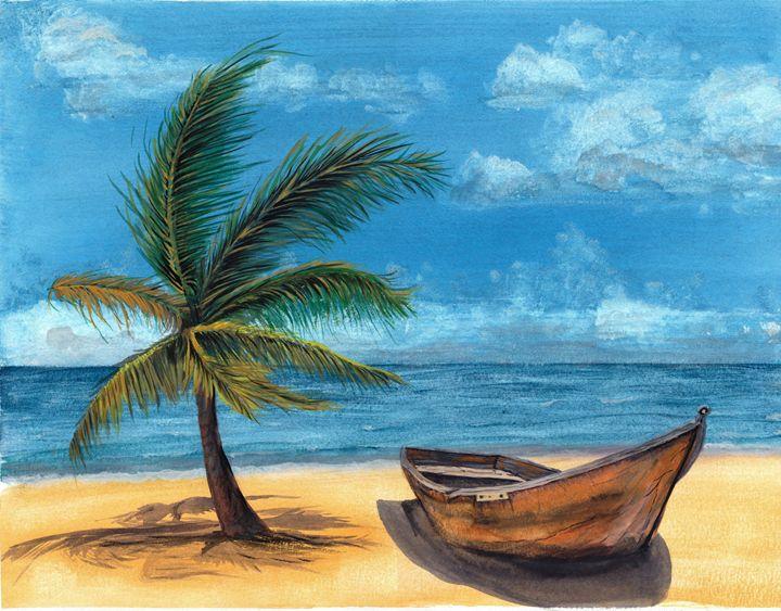 """On the beach"" - Chris Sheppard"