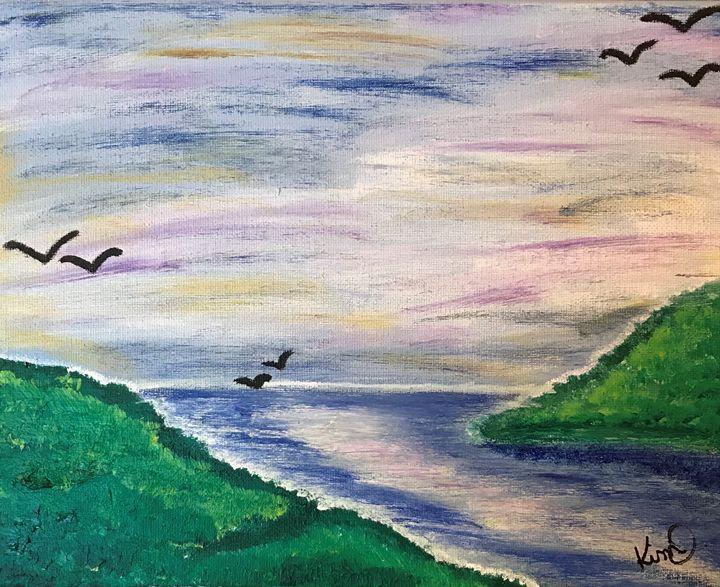 Colorful Lakeview - Kimberli Stidham