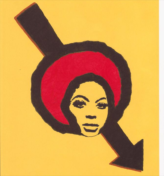 Red Afro - Penstripesuit