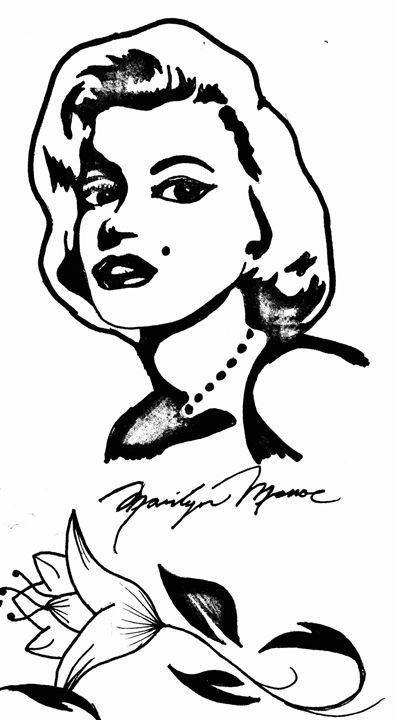 Love Marilyn - HR-Original Art