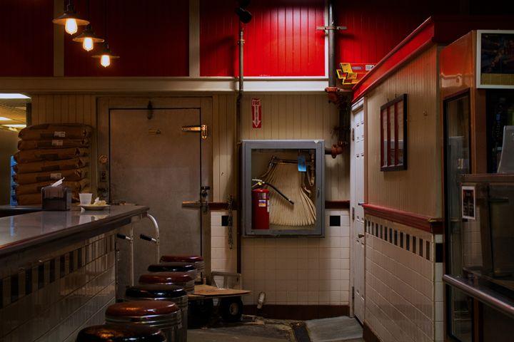 red diner - Aubrey Carpenter