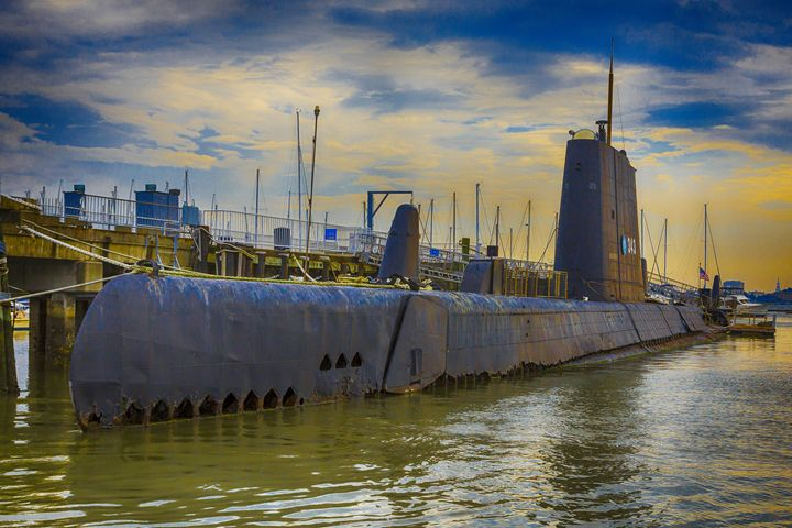 WWII submarine - Daniel S. Krieger Photography