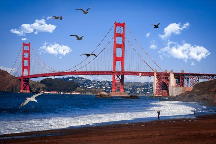 Golden Gate Bridge - Daniel S. Krieger Photography