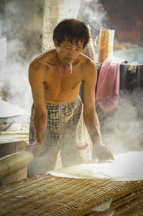Preparing Dinner - Daniel S. Krieger Photography