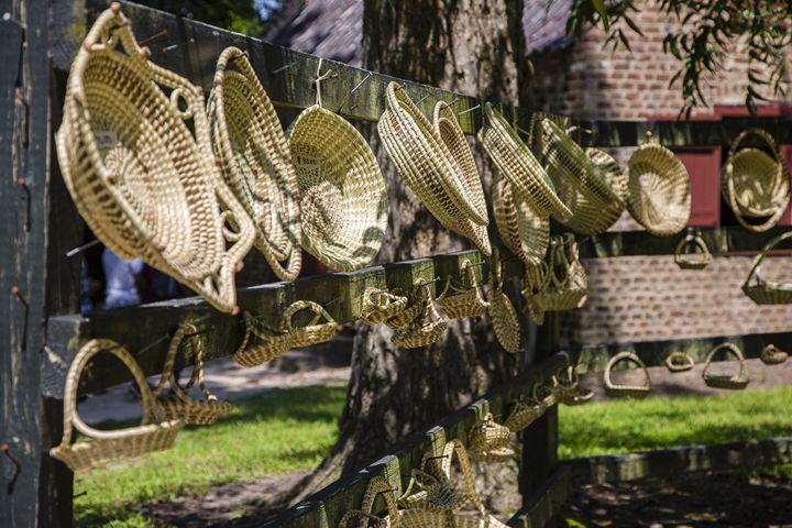 Palmetto Baskets - Daniel S. Krieger Photography