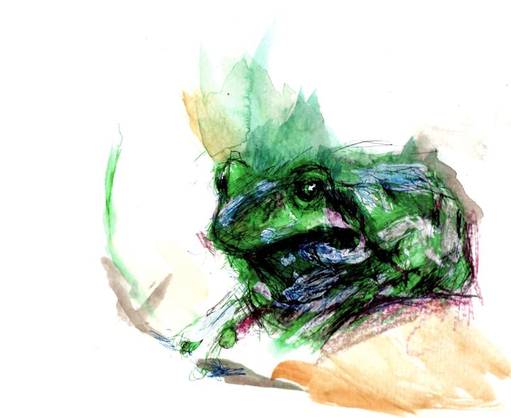Tree frog - Le Chat