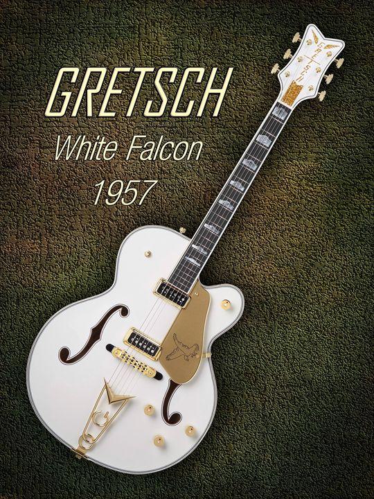 Gretsch  White Falcon 1957 - music