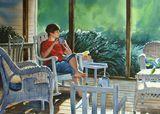22x30 watercolor