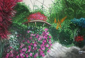 English-style Garden