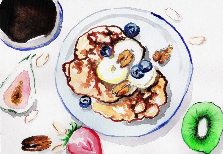 The Perfect Breakfast - TattyArty