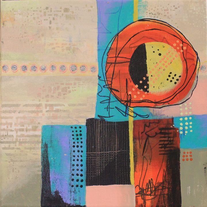 Sunny City - Al Burton Art