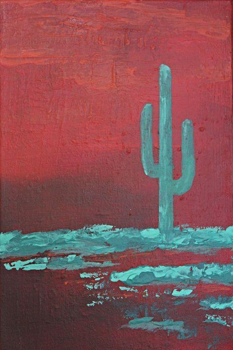 Desert Red - Al Burton Art