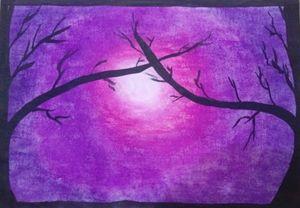 Nature in purple