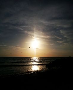 Sunset like a choke hold