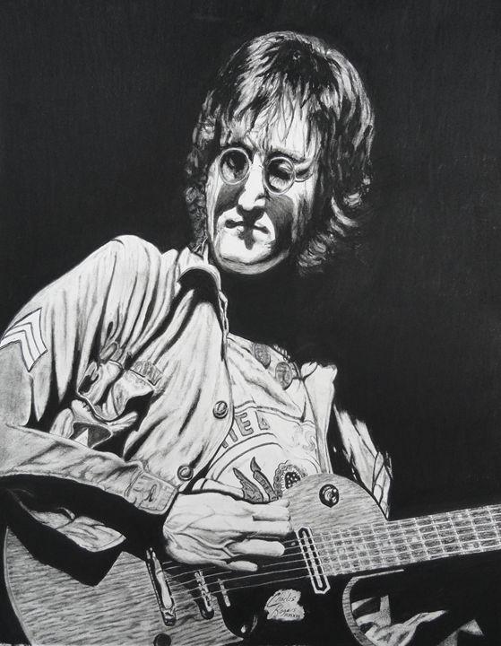 John Lennon Madison Square Garden - Native Texan Artistry/Charles Rogers