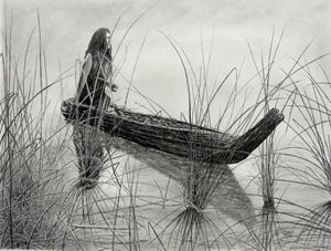 Canoe of Tules