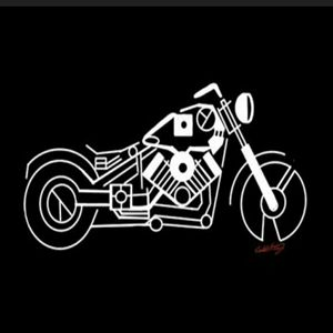 Abstract 2D Motor Cycle