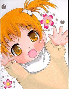 Anime Kawaii Baby Drawing