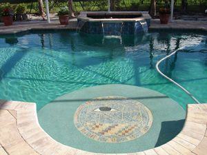 Pool Eye Mosaic