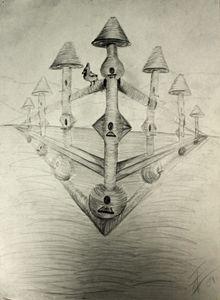 Bird Houses - Ashley Burriss Art