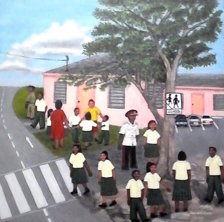 A Day at School - Samantha Lewis
