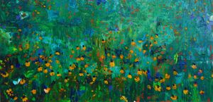 Field of Coreopsis