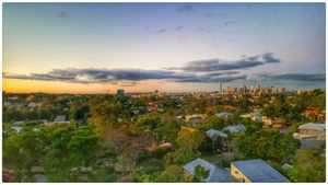 Sun Sets over Brisbane