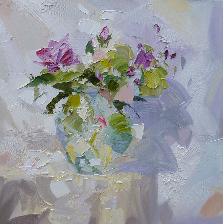 WILD ROSES BY PAUL TREASURE - Collectable Art