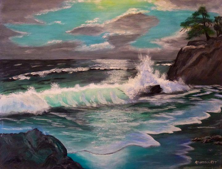 Crashing Waves - rwoollett