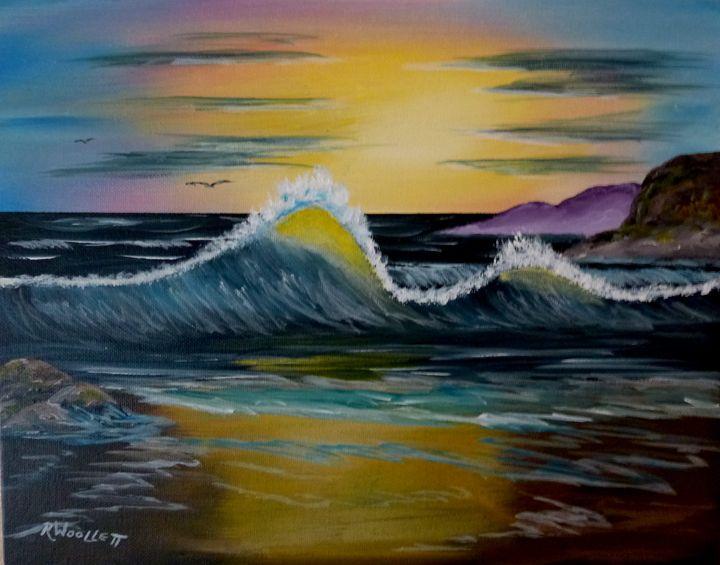 Wave at Dawn - rwoollett