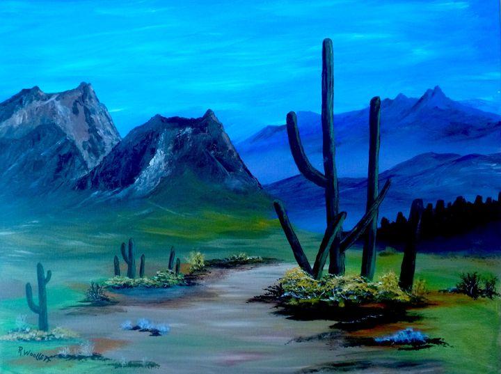 The Desert - rwoollett