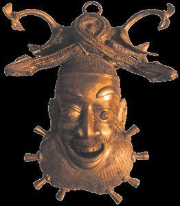 mask of secret of bamoun kingdom - SHIRU DA DON ART