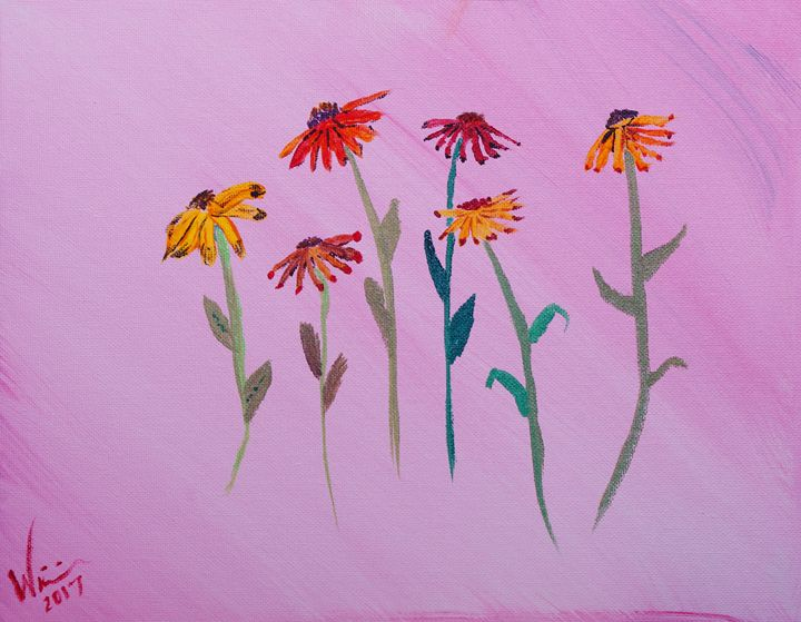 Pressed Flowers - 11x14 Canvas - Sean Williams' Photography