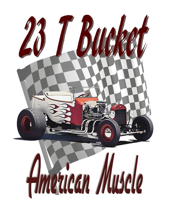 23 T Bucket - American Muscle - Sean Williams' Photography