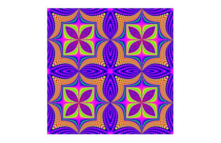 """Purple Wild"" - SYMMO GRAPHICS"