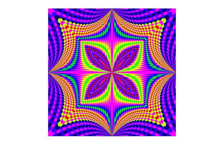 """Purple Wild"" close - SYMMO GRAPHICS"