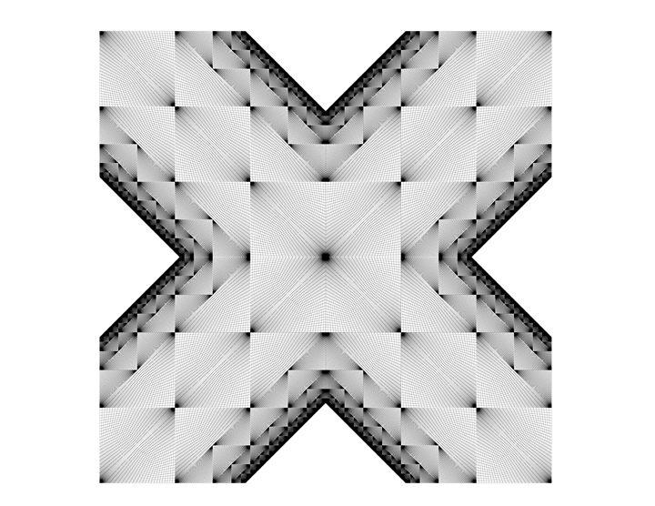 """Black Cross"" - SYMMO GRAPHICS"