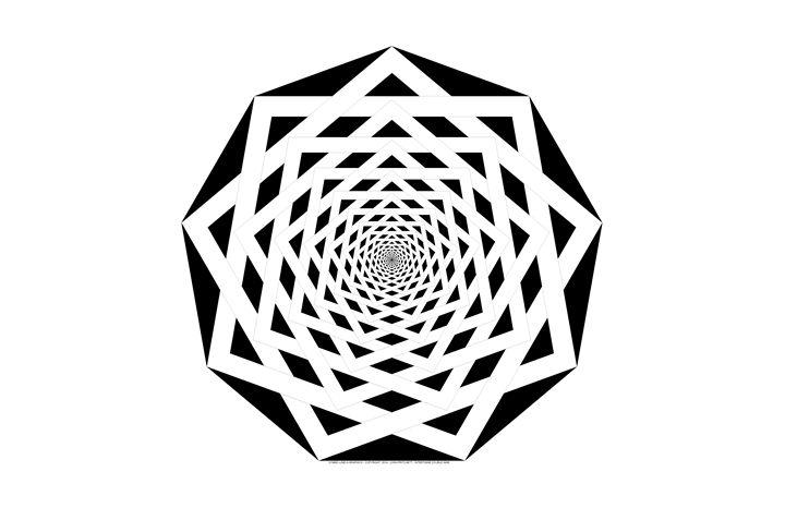 """Intertwine Double Nine"" - SYMMO GRAPHICS"