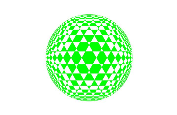 """Green Check Ball"" - SYMMO GRAPHICS"