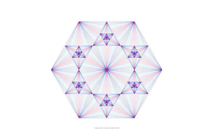 """Hexafinity"" - SYMMO GRAPHICS"