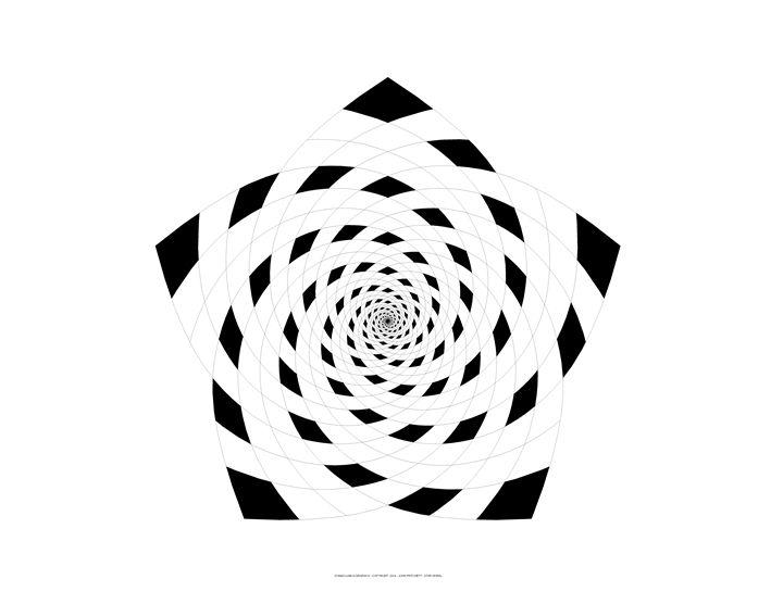 """StarSpiral"" - SYMMO GRAPHICS"