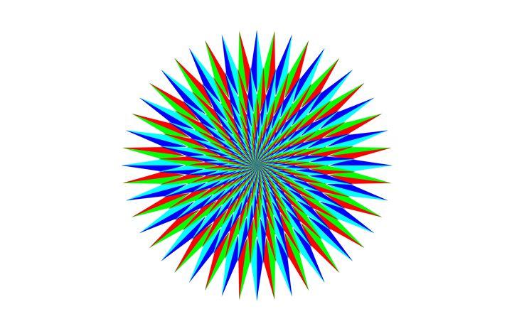 """Star Spiral"" - SYMMO GRAPHICS"