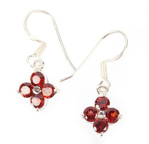 Sterling Silver Awesome Garnet